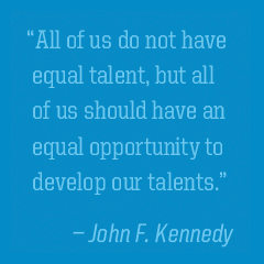 Image of a quote by JFK